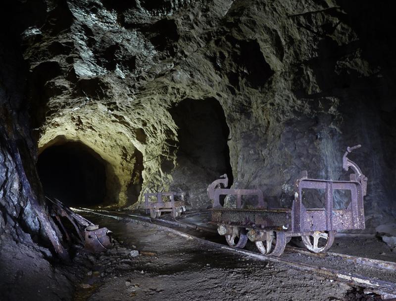 Ancienne mine de bitume