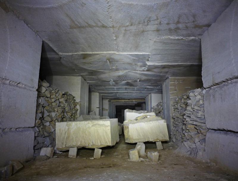 Ancienne carrière de pierre à bâtir