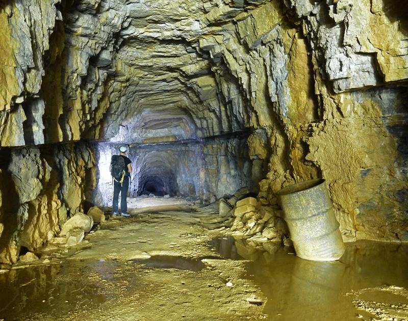 Ancien tunnel ferroviaire