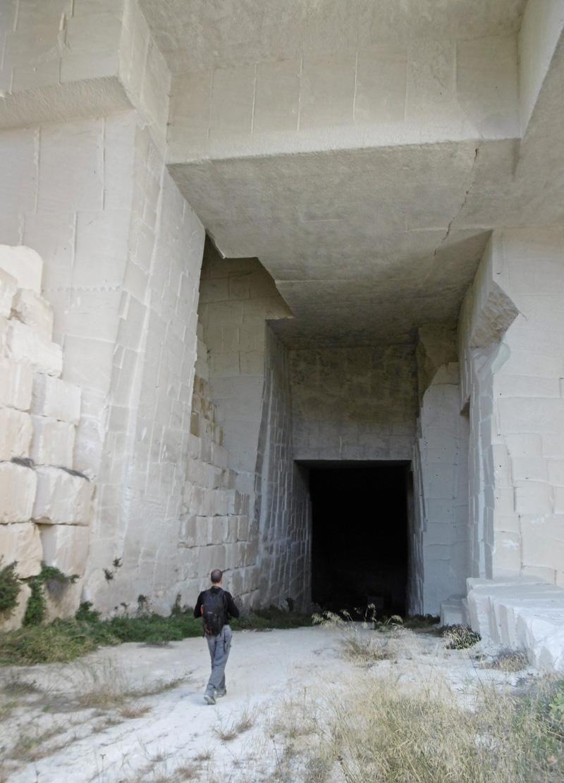 Carrière de pierre à bâtir