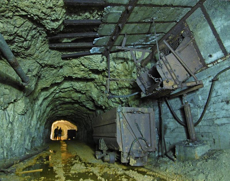 Mine de plomb-zinc