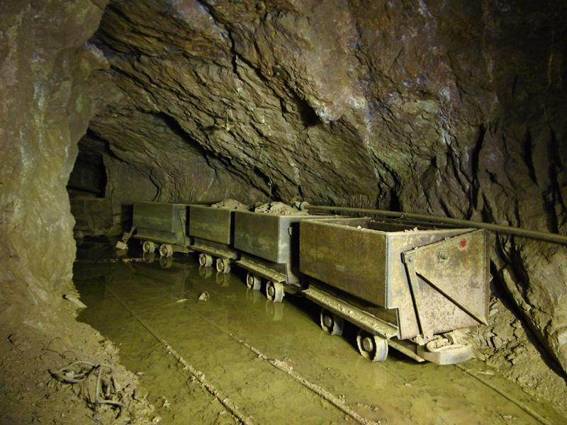 Ancienne mine de bauxite