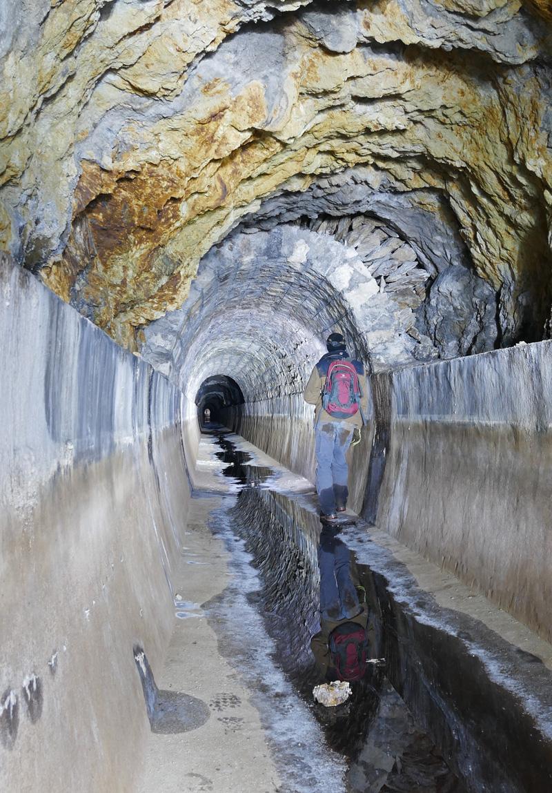 Aqueduc souterrain
